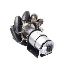 20kg Big Load 4pcs 78mm Mecanum Wheel+4pcs 12V 178rpm Motor with Speed Encoder for Arduino DIY Project Smart RC Robotics Parts