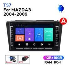 IPS HD Android Auto Radio Dvd-Player für Mazda 3 Mazda3 2004-2012 Steuergerät Wifi GPS Navigation Unterstützung Carplay kamera DVR SWC