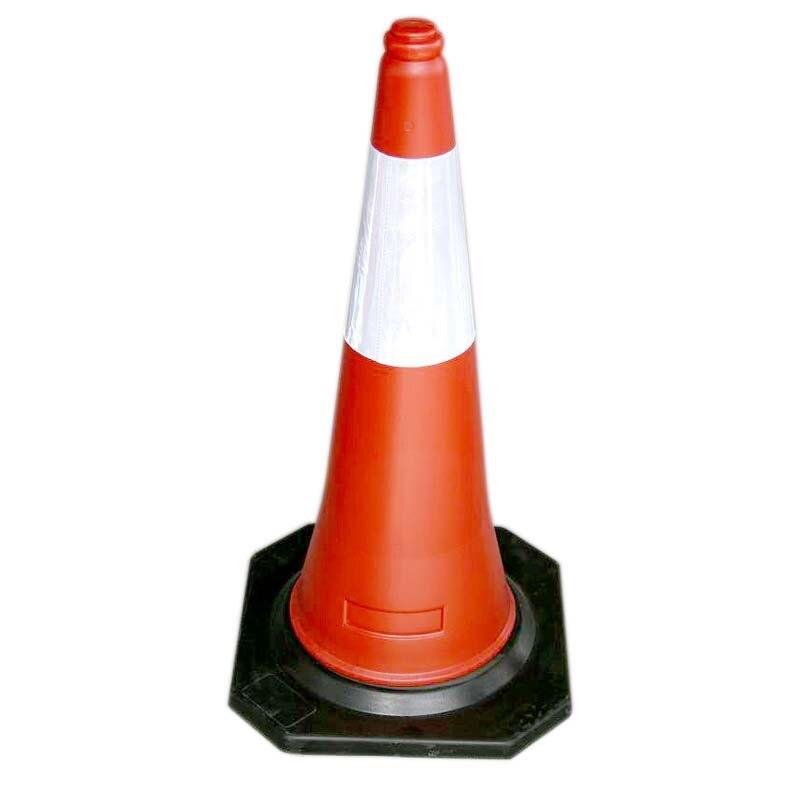 Manufacturers Direct Selling 70 Cm Plastic Road Cone Roadblocks Reflective Cone National Standard Ice Cream Cone Quality Assuran