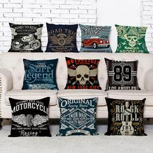 New arrival coreless Pillowcase Hot-selling cool style cotton and hemp pillow sleeve  cushion
