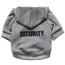 Cat Clothes Pet Security Coats Jacket Hoodies For Cats Outfit Warm Clothing Rabbit Animals Costume for Dogs Black