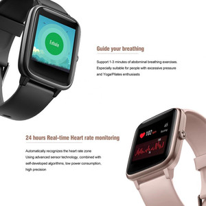 Image 5 - ID205L Smart Watch Color Screen Bracelet Waterproof Sports Pedometer Fitness Running Walking Tracker Heart Rate for IOS Android
