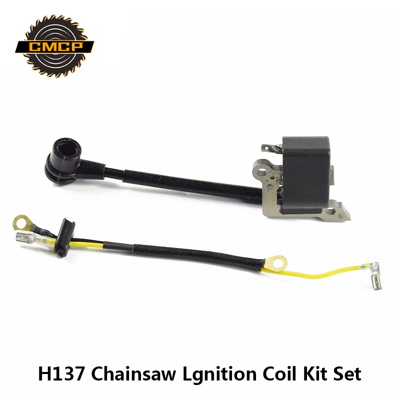 1 Set H137 Chainsaw Ignition Coil Kit Module Assy For Husqvarna 136 137 141 23 235 240 26 36 41 Chainsaw Parts