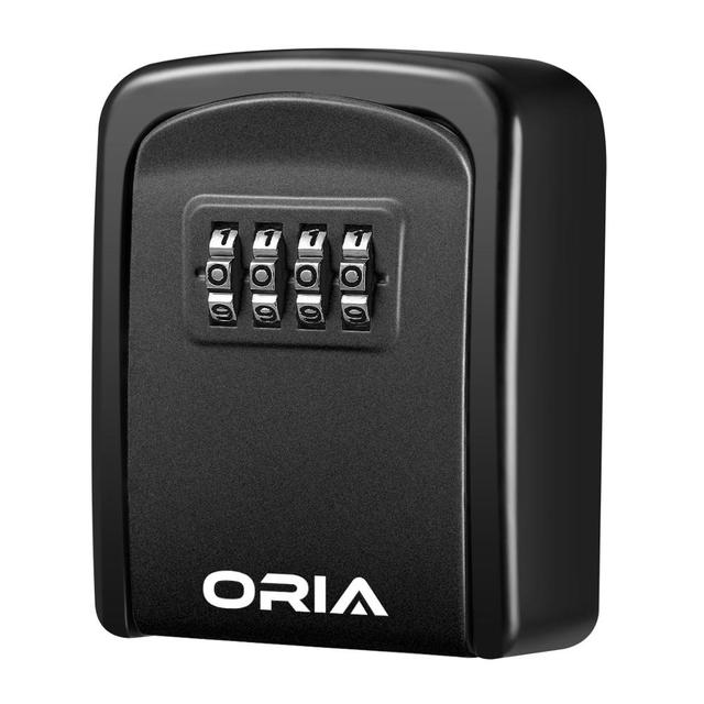 ORIA Password Key Box Decoration Key Code Box Key Storage Lock Box Wall Mounted Password Box Outdoor Key Safe Lock Box 1