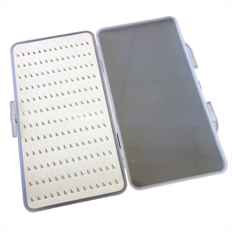 Transparent Fly Fishing Flies Box With Foam Portable Flying Fishhook Case Fishing Lure Tackle Boxes Fishing Accessories New|Fishing Tools| |  - title=