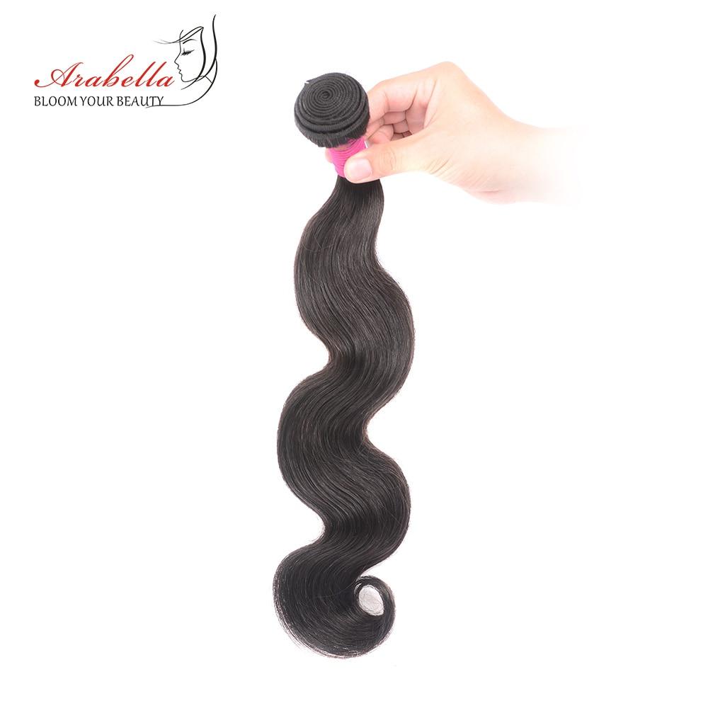 Body Wave Hair Bundles   Bundles Natural Color 1/2/3/4 Pieces Available  Hair  Arabella Hair 4