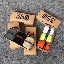 Men Socks 3 Pairs Calabasas Colors High Quality Cotton  Unisex Women Casual Kanye West Heron Preston DHL
