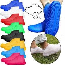 Силиконовые галоши; водонепроницаемые бахилы; защитный чехол для обуви; перерабатываемая обувь для дождя; сапоги; галоши; Y20