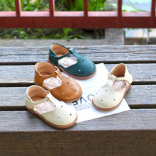 Princess Shoes Girls' Baby Summer New Soft-Sole Hollow-Out Solid-Color
