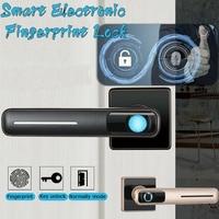Smart Electronic Fingerprint Door Lock Security Safe Tools USB for Home Office FKU66