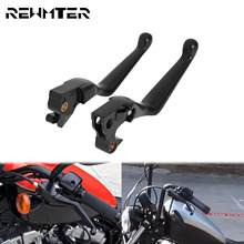 Motorcycle CNC Brake Clutch Lever Black Hand Control Lever For Harley Sportster XL 1200 883 Roadster Iron Custom Seventy Two