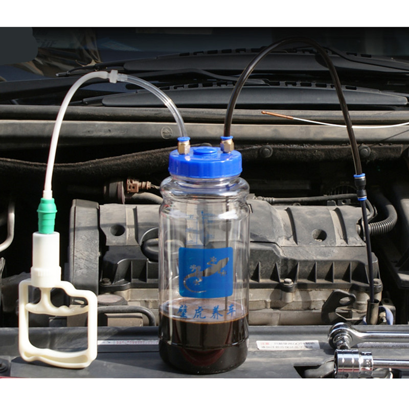 2L Oil Change Artifact Manual Vacuum Pump Change Oil Suction Pump Suction Engine Oil Vacuum Pump Car Maintenance Tool  Universal