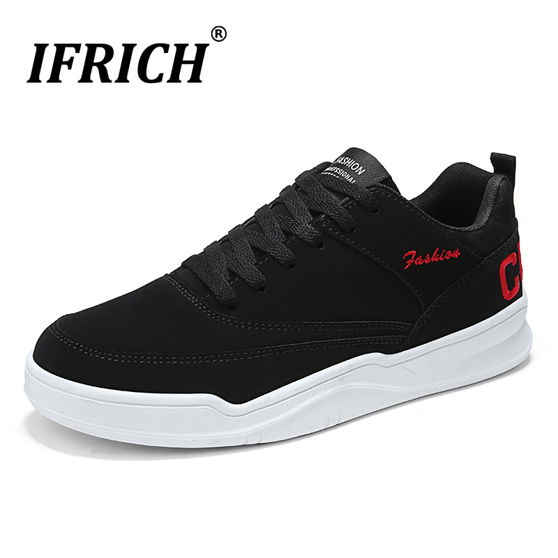 Sneakers Skateboarding-Shoes Big-Size Women Lace-Up Flat For 48/non-Slip Male Designer