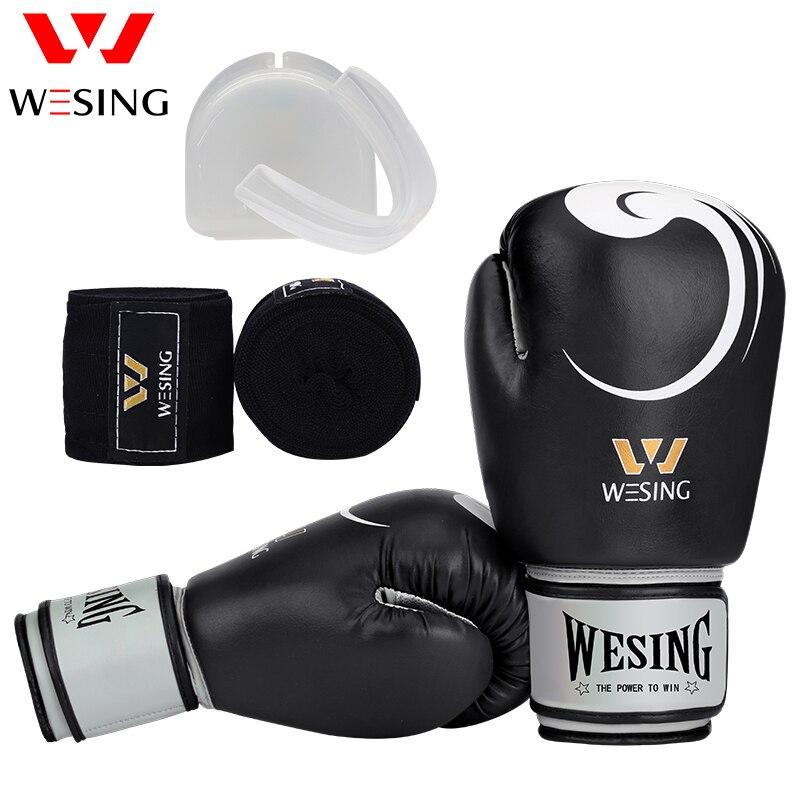 Guantes de boxeo Wesing para mujeres y hombres Guantes de - Ropa deportiva y accesorios