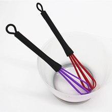 Крем для волос Ручка пластиковый кухонный смеситель мешалка воздушный шар проволока яйцо взбиватель приготовления пищи