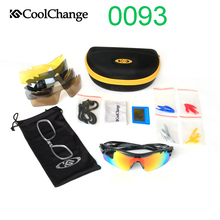 0093 Cycling glasses Outdoor Sports Sunglasses Polarized Bic