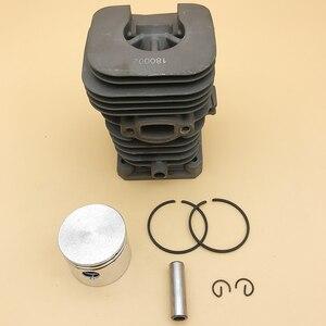Image 4 - HUNDURE Juego de pistón y cilindro de motosierra de 41,1mm para Partner 350 Partner 351, piezas de repuesto de motosierra de gasolina