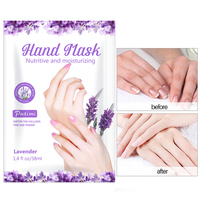 10Packs Exfoliating Hand Masks Wax Peel Moisturizing Spa Gloves Whitening Hand Mask Cream Hand Scrub Remove Dead Skin Hand Care 2