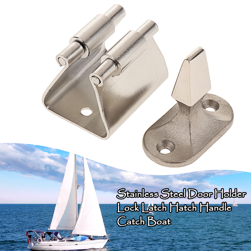 Boat Latch Marine Hatch Mount Door Lock Bolt Hold Down Clamp Anti-Rattle Latch For Caravan RV Yacht Etc Boat Accessories Marine
