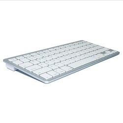 Praktyczna niezbędna ultra-cienka przenośna klawiatura bezprzewodowa Bluetooth Chiclet klucz biały Bk3001 na telefon z systemem Android Padu7Alaj1562/79