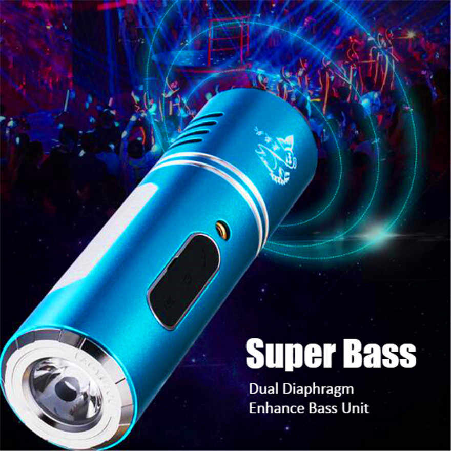 إضاءة دراجة هوائية راديو بلوتوث مكبر صوت صغير مقاوم للماء Hifi الصوت بار مكبر الصوت Coloumn المحمولة مركز الموسيقى سماعات Boombox