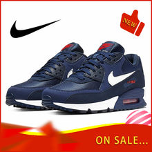 Original authentic NIKE AIR MAX 90 ESSENTIAL men's running shoes fashion classic outdoor sports shoes breathable AJ1285-403(China)