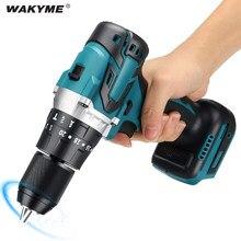 Wanyme perceuse sans fil 40nm, tournevis électrique 18V, outils électriques rechargeables au Lithium, remplacement de batterie Makita