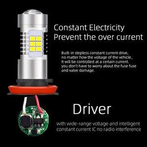 Image 5 - VANSSI 2 Chiếc H8 H11 Đèn LED Sương Mù Bóng Đèn 6000K Trắng HB4 9006 H10 9145 H16 Bóng Đèn LED Ô Tô đèn Bảo Hành 1 Năm