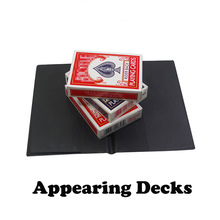 Appearing Decks Magic Tricks Magician Card Magie Deck Appearing From Wallet Close Up Illusions Gimmick Props Stage Comedy