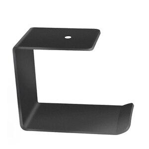 Gancho de montaje en pared para colgar auriculares soporte Universal para auriculares pantalla bajo escritorio fácil de instalar duradero