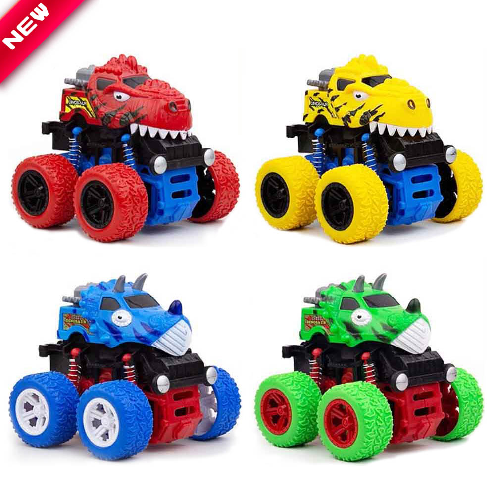Inertia Four-Wheel-Drive Off-Road Vehicle Cars For Boys Children Simulation Model Car Anti-Shatterproof Toy Car Baby Hot Toys
