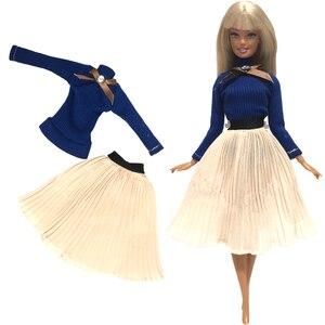 Image 5 - Nk ホット販売 1x 人形バービー人形ファッションスカートドールハウス服 diy アクセサリー女子ギフトベビーおもちゃ G1 jj