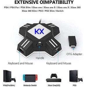 Image 2 - PS4 Xbox One clavier souris adaptateur manette contrôleur convertisseur pour PS4 PS3 Xbox One Nintendo Switch FPS accessoires de jeu