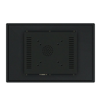 15 inch low power consumption fanless industrial panel pc with 2 PCI