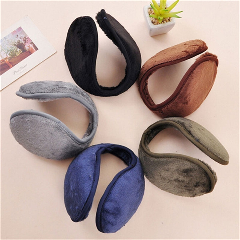Women Winter Earmuffs Winter Accessories Ear Warmer Ear Cover Warm Earmuffs Unisex Knitted Earmuffs Winter Warm Plus