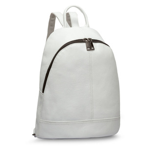 Image 5 - Zency 100% 정품 가죽 패션 여성 배낭 Preppy 스타일 여자의 Schoolbag 블랙 휴일 배낭 레이디 캐주얼 여행 가방