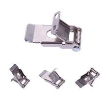 Custom 50mm length recessed lighting spring clip led panel clamp