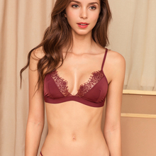 Sexy Floral Lace Bra For Women Adjusted Straps Female Lingerie Comfortable breathable Soft Bralette Thin Seamless underwear bras