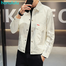 Coat men's spring 2020 new youth slim Korean fashion casual handsome jacket
