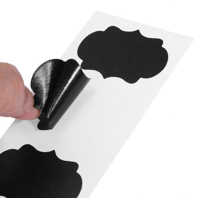 Blackboard Sticker Craft Kitchen 5 X 3.5 cm 4