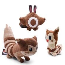 Takara POKEMON Japan Anime Sentret Furret Peluche Stuffed Plush Cartoon Dolls for Children Hot Christmas Gift Toy