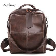 Travel Backpack Backpack Bag Famous Brand Zipper Lock Solid Pu Pink Fashion Teenage Backpacks For Girls Mochilas Purse Bookbag