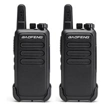 2 шт. Baofeng BF C9 портативная мини рация 400 470 МГц UHF VOX USB зарядка ручной двухсторонний радиокоммуникатор