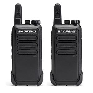 Image 1 - 2 pièces Baofeng BF C9 Portable Radio Mini talkie walkie 400 470MHz UHF VOX USB charge ordinateur de poche bidirectionnel jambon Radio communicateur