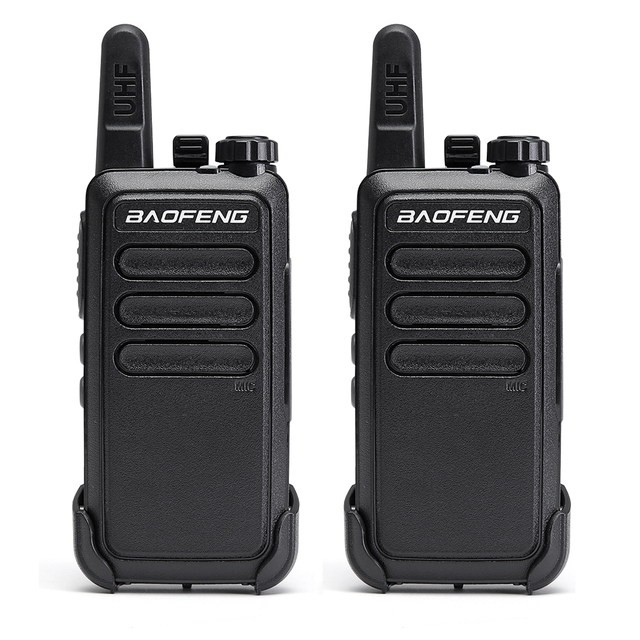 2 pièces Baofeng BF C9 Portable Radio Mini talkie walkie 400 470MHz UHF VOX USB charge ordinateur de poche bidirectionnel jambon Radio communicateur