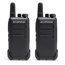Baofeng Radio portátil Mini Walkie Talkie BF C9, 400 470MHz, UHF VOX, carga USB, Radio portátil, comunicador bidireccional, 2 uds.