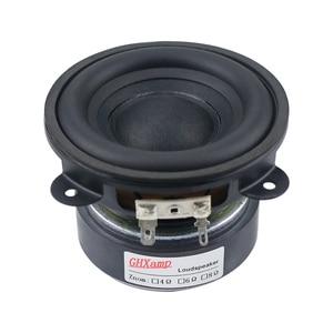 Image 4 - GHXAMP 3.5 pouces basse Woofer haut parleur Subwoofer 88mm Super dur bord en caoutchouc 4 ohm 50W grand magnétique en acier cuivre bobine vocale