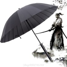 New Samurai Sword Handle Umbrella Ninja Katana Japanese Long Umbrella Jy24 20 Dropship(China)