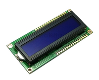 1pcs LCD Green Screen Blue Module IIC / LCD1602 I2C 1602 for UNO r3 mega2560 arduin 1602 LCD