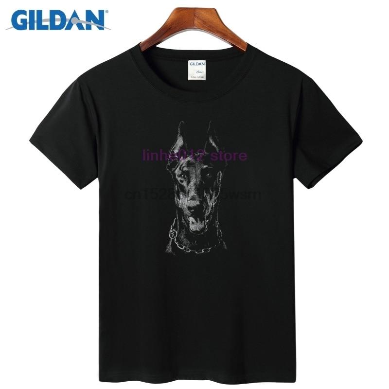 Doberman Cool Men T-Shirt 2019 Make Your Own Shirt Quick-Dry Plain Tee Shirt Online 2019 Trend Of Fashion T Shirts